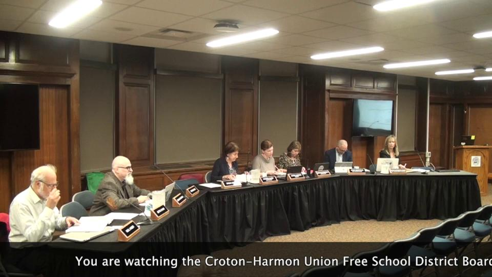 September 19, 2019 Board of Education Work Session...
