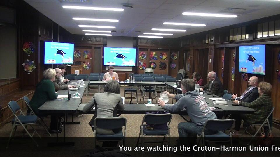 November 21, 2019 Board of Education Work Session ...