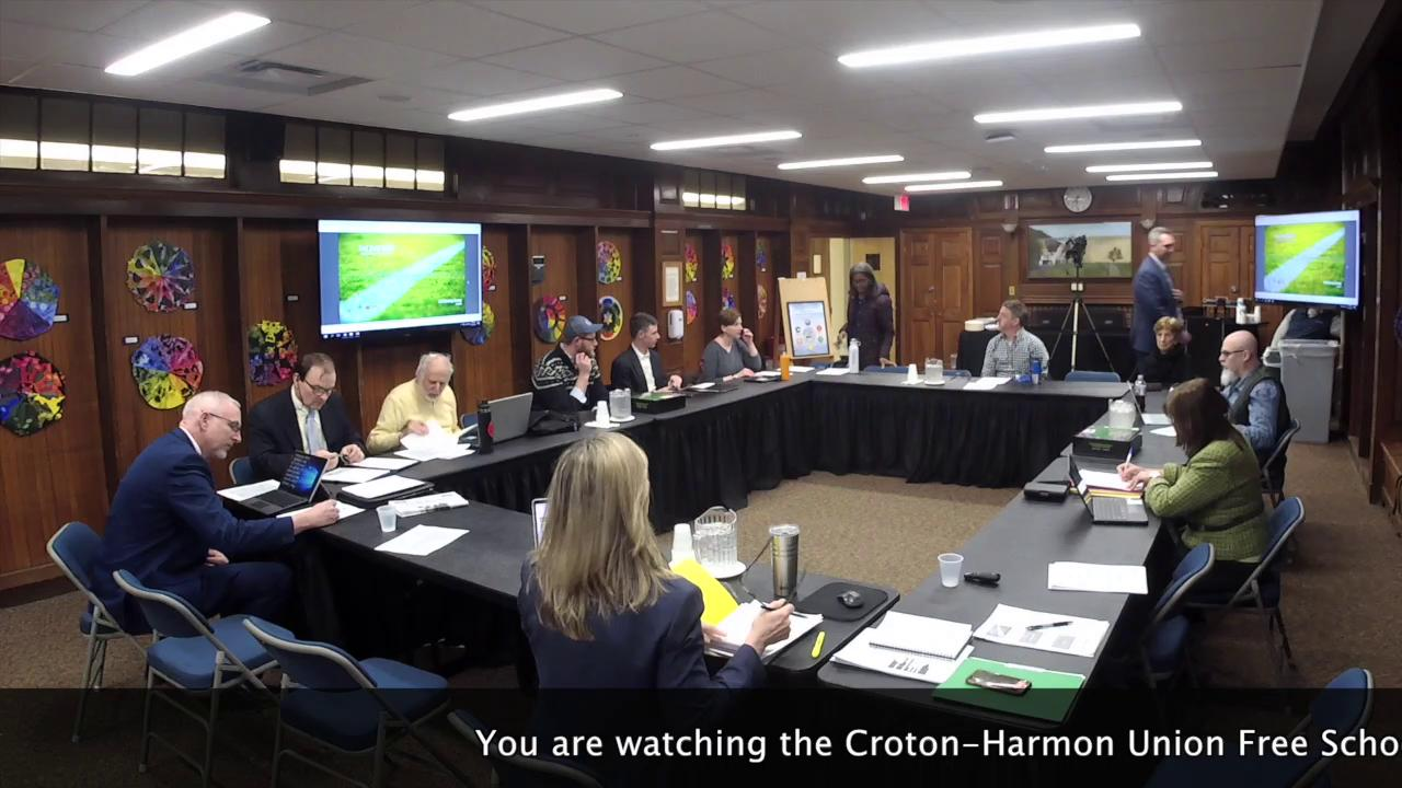 February 27, 2020 CHUFSD Board of Education Meetin...