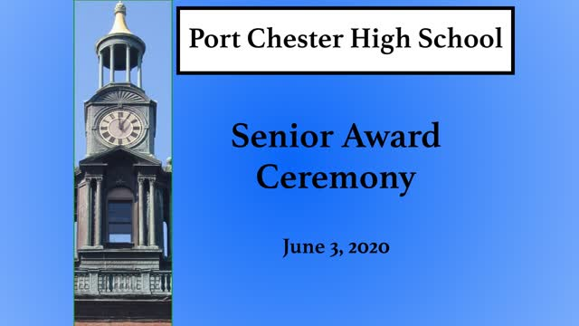 Senior Scholarships & Awards Ceremony