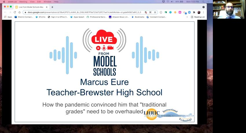 Live from Model Schools: Marcus Eure (Brewster CSD...