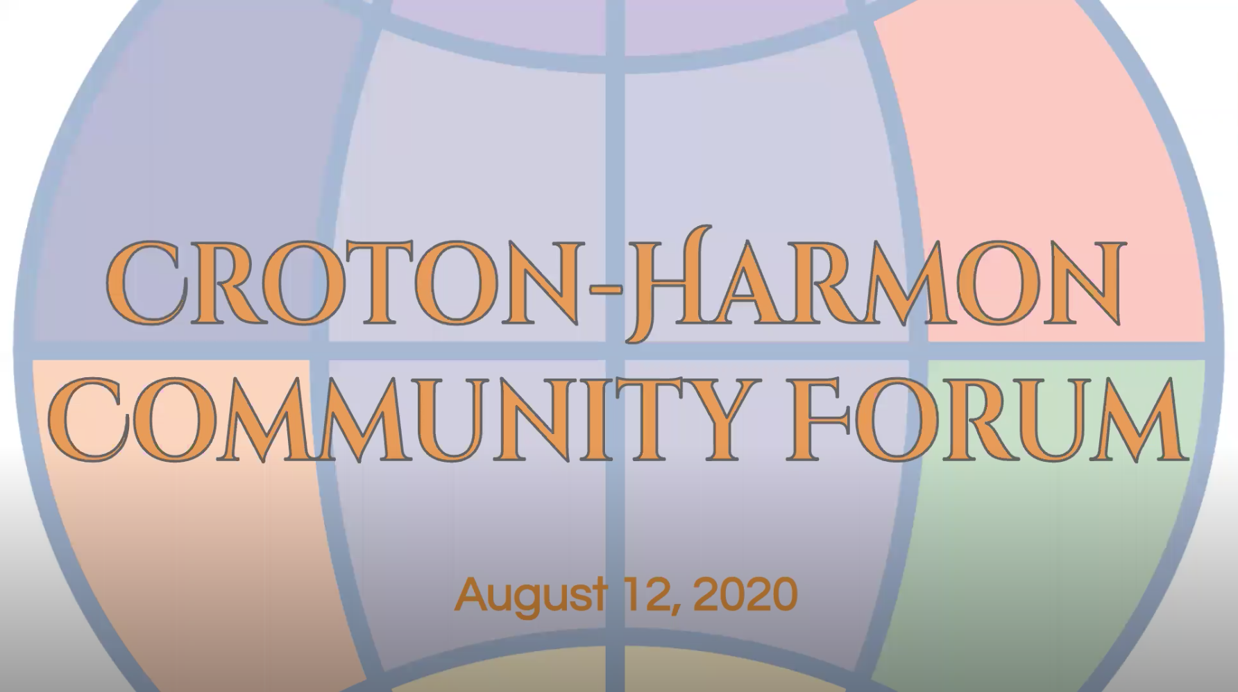 August 12, 2020 Community Forum CHUFSD