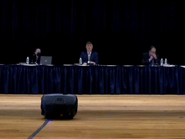 Board of Education Budget Hearing & Work Session M...