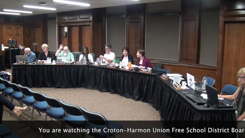 September 5, 2019 Board of Education Meeting CHUFS...