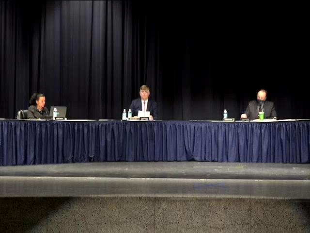 Board of Education Business Meeting August 13, 202...