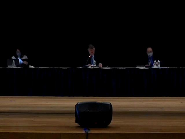 Board of Education Business Meeting March 25, 2021