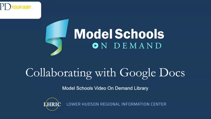 Model Schools Working with Google Docs