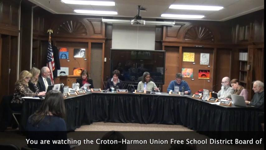 March 7, 2019 Board of Education Meeting
