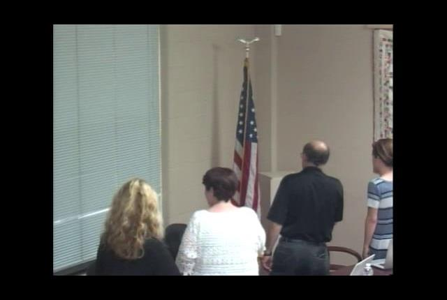 Board of Education Organizational Meeting July 11,...