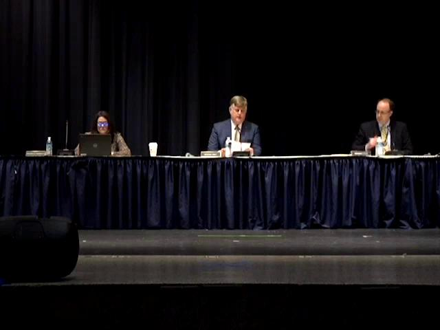Board of Education Business Meeting September 17, ...