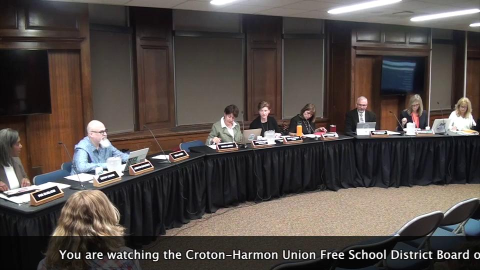 October 3, 2019 Board of Education Meeting CHUFSD