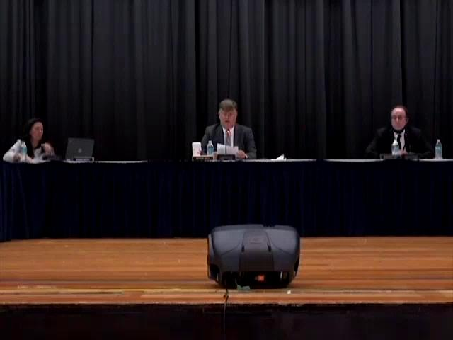 Board of Education Business Meeting October 15, 20...