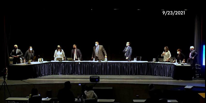 Board of Education Business Meeting September 23, ...