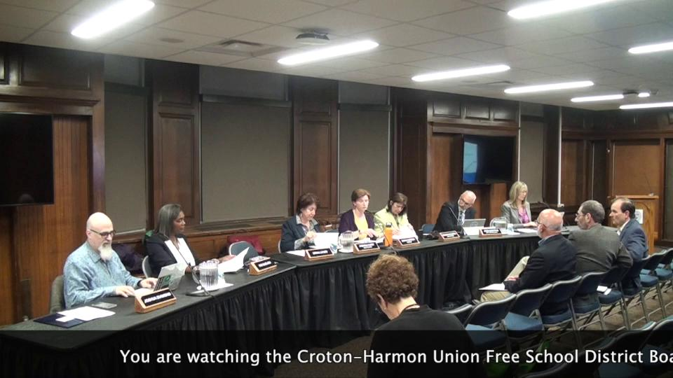 October 17, 2019 Board of Education Work Session C...