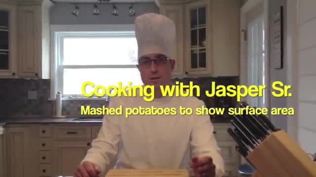 Cooking with Jasper Sr.- Mashed potatoes to show s...