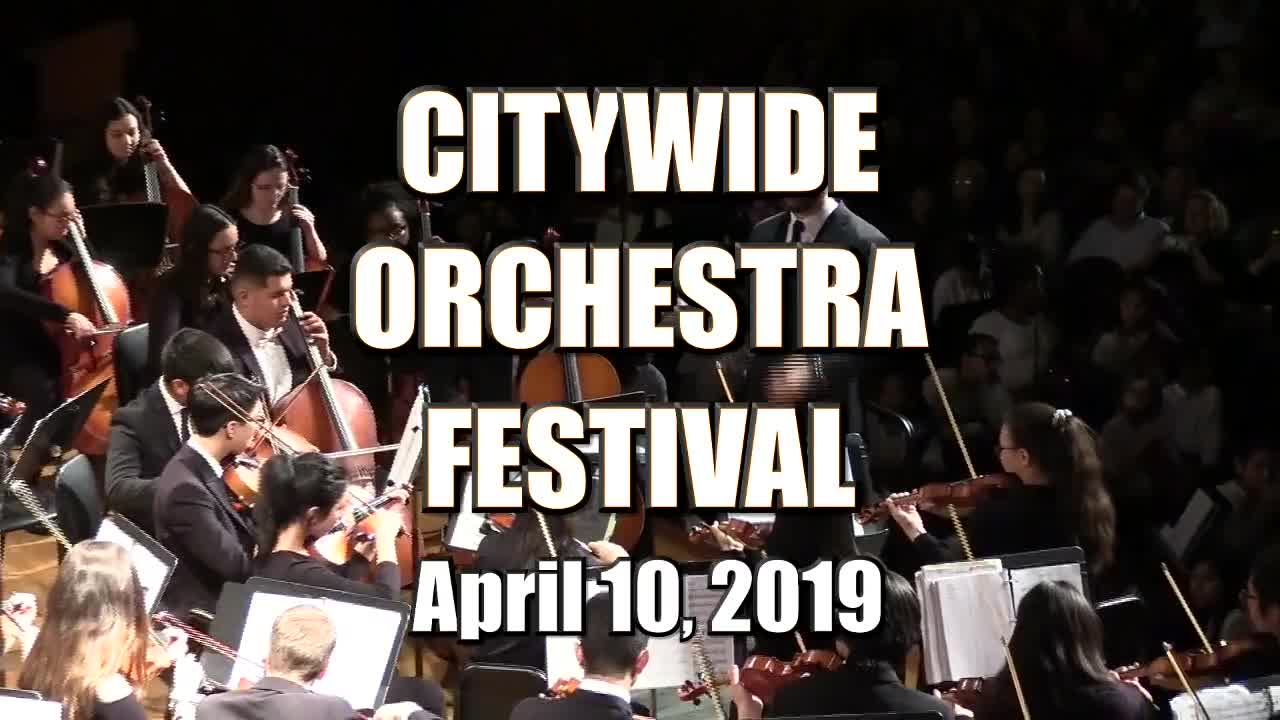 Citywide Orchestra Festival