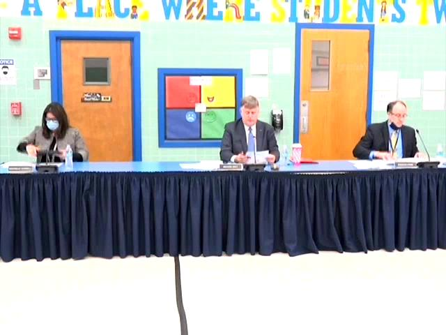 Board of Education business Meeting November 19, 2...