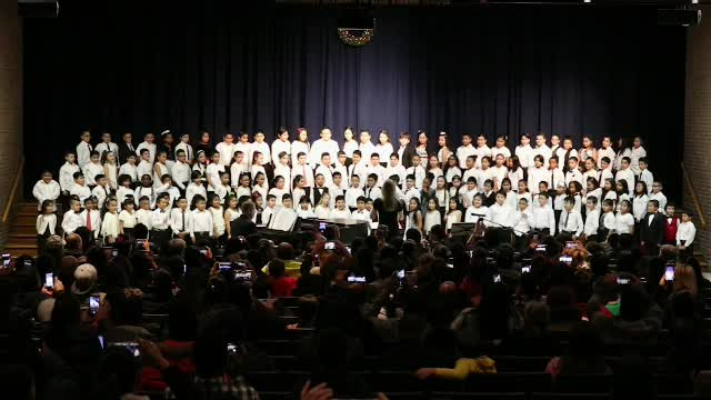 JFK 3rd Grade Winter Concert