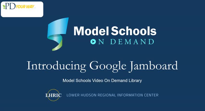 Model Schools Introducing Google Jamboard