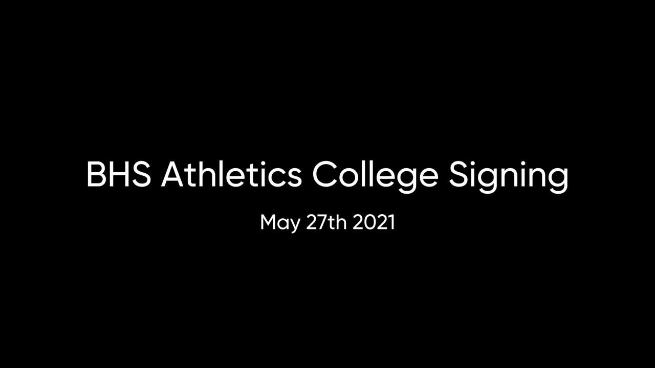 Athletic's College Signings