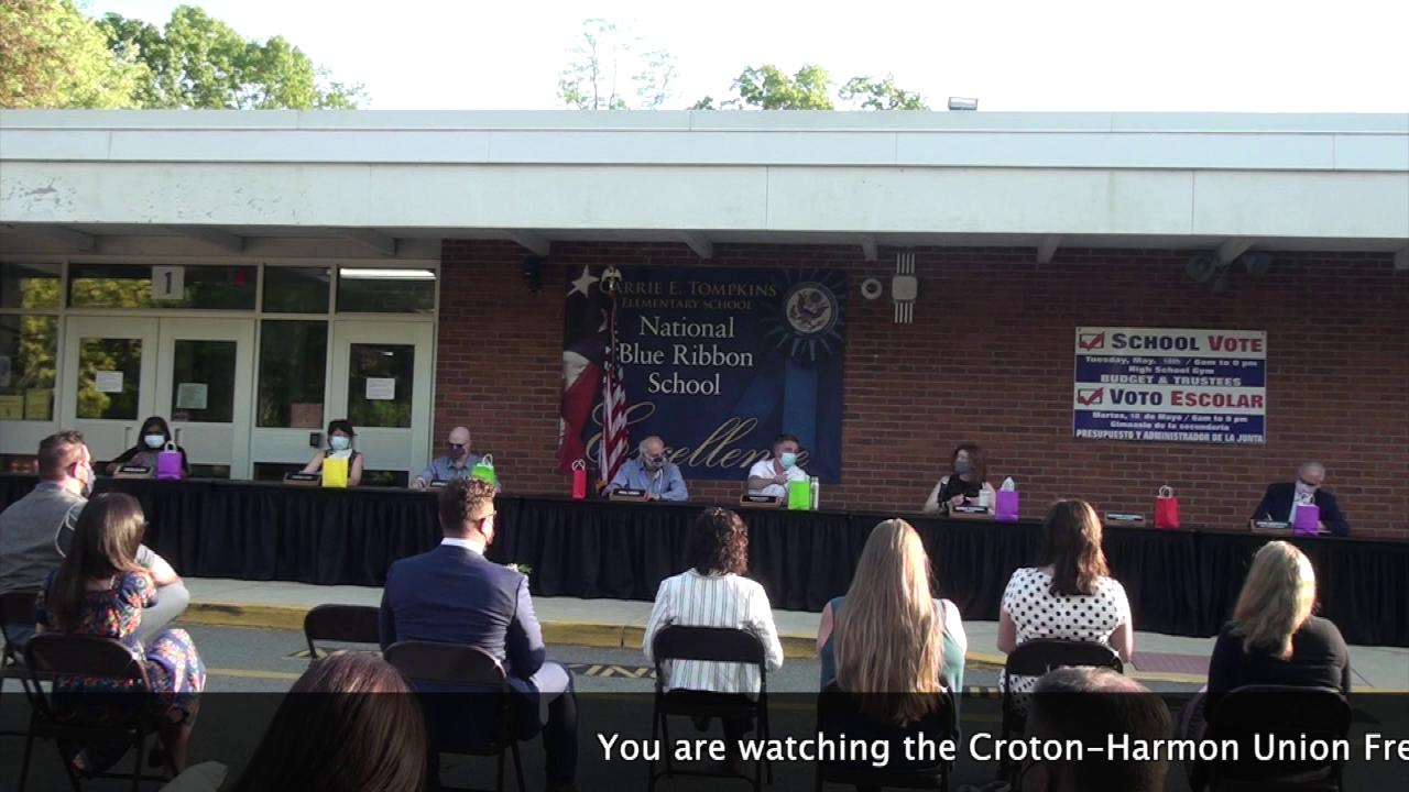 May 18, 2021 Staff Recognition Ceremony and Board ...