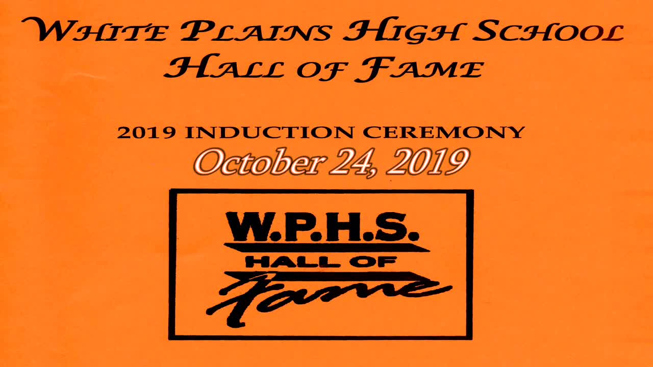 2019 WPHS Hall of Fame Induction Ceremony