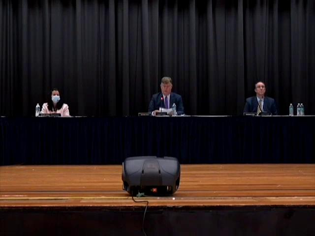 Board of Education Work Session October 1, 2020