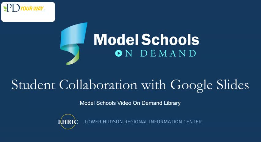 Model Schools Student Collaboration with Google Sl...