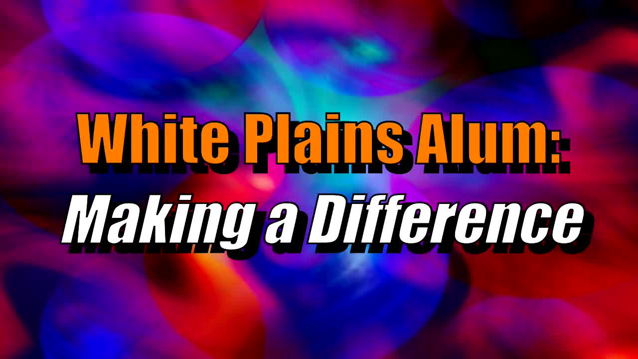 2019 White Plains Alum:  Making a Difference