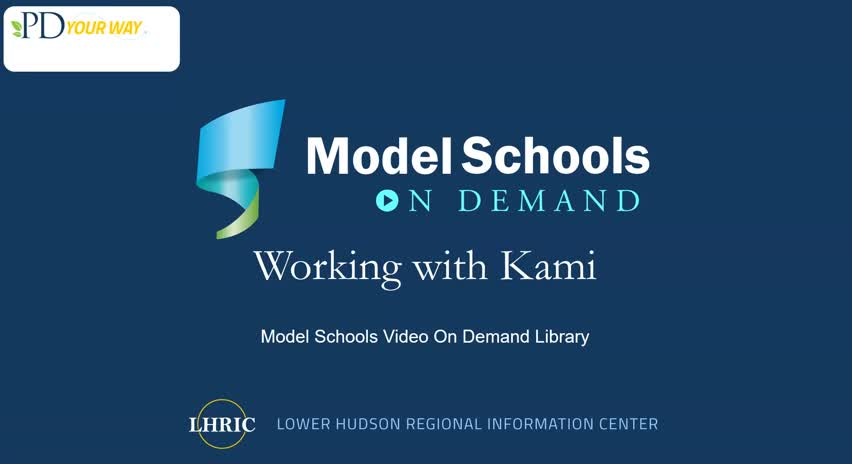 Model Schools Working with Kami